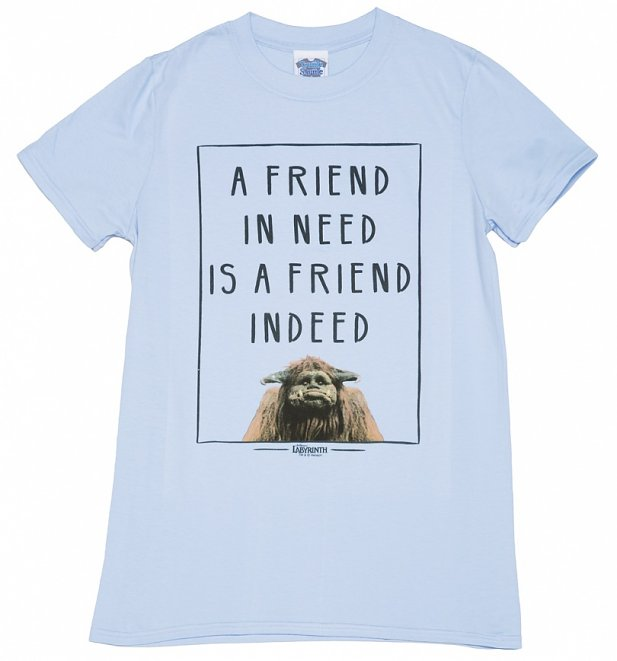 Men's Ludo A Friend In Need Labyrinth T-Shirt