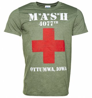 Men's M*A*S*H 4077th Logo T-Shirt