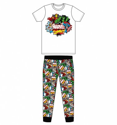 Men's Marvel Comics Pyjamas