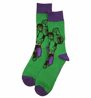 Men's Marvel Incredible Hulk Ankle Socks