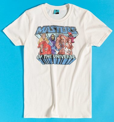 Men's Masters Of The Universe Gang Ecru T-Shirt