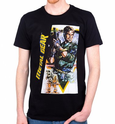 Men's Metal Gear Konami T-Shirt