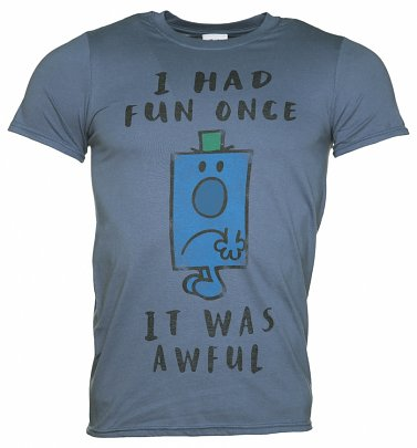 Men's Mr Grumpy I Had Fun Once T-Shirt