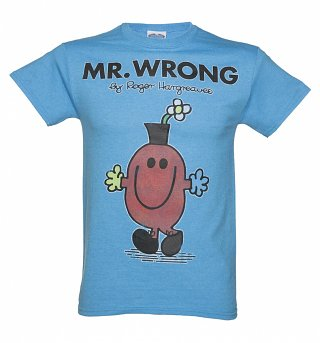 Men's Mr Wrong Mr Men T-Shirt