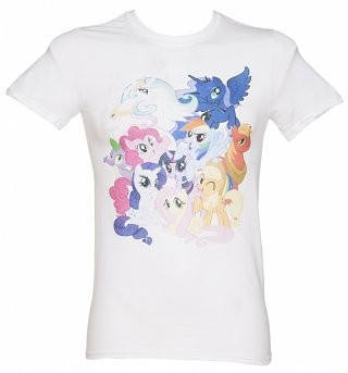 Men's My Little Pony Friendship Is Magic Burst T-Shirt