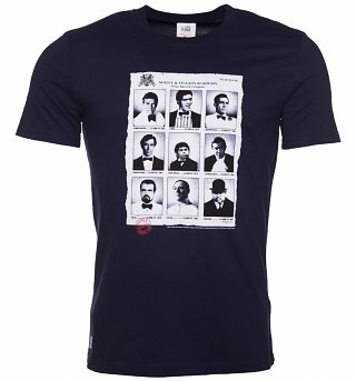 Men's Navy Academy Year Book James Bond T-Shirt from Chunk