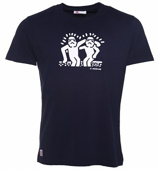 Men's Navy Best Buddies T-Shirt from Chunk