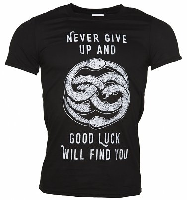 Men's Never Give Up NeverEnding Story Inspired T-Shirt