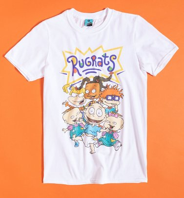 Men's Nickelodeon Rugrats White T-Shirt