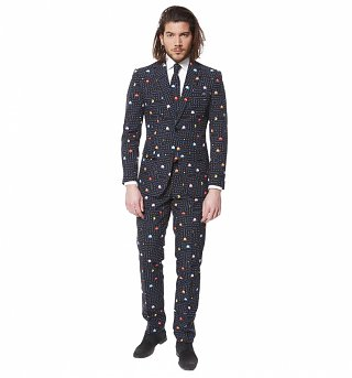 Men's Pac-Man Suit With Tie from OppoSuits