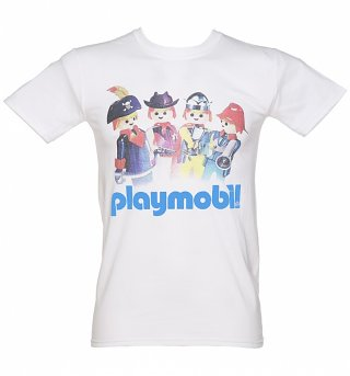Men's Playmobil Retro Logo T-Shirt
