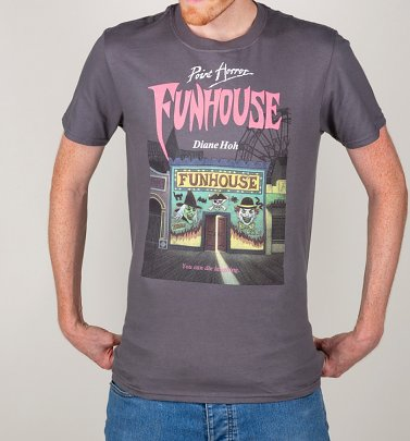 Men's Point Horror Funhouse Charcoal T-Shirt