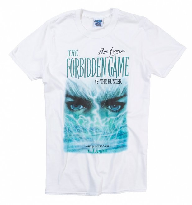 Men's Point Horror The Forbidden Game White T-Shirt