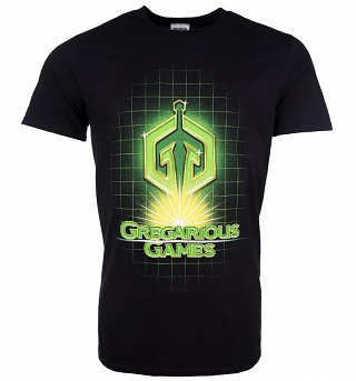 Men's Ready Player One Gregarious Games Logo T-Shirt