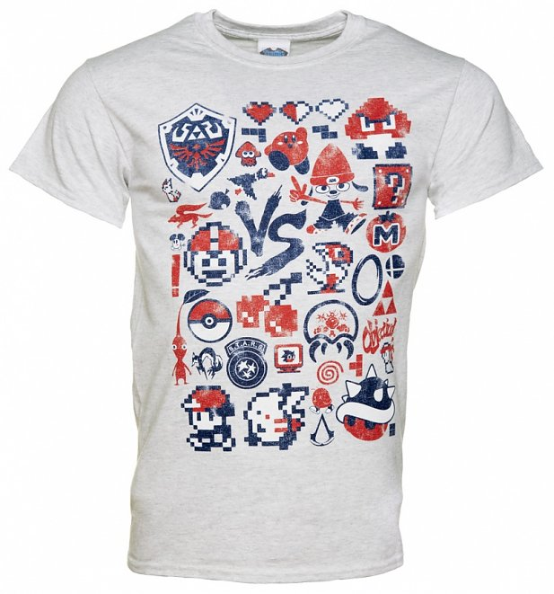 Men's Retro Gaming Heavyweight T-Shirt