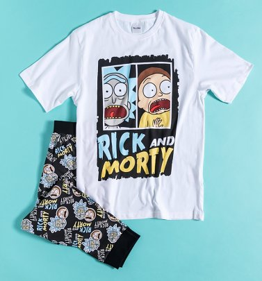Men's Rick And Morty Pyjamas