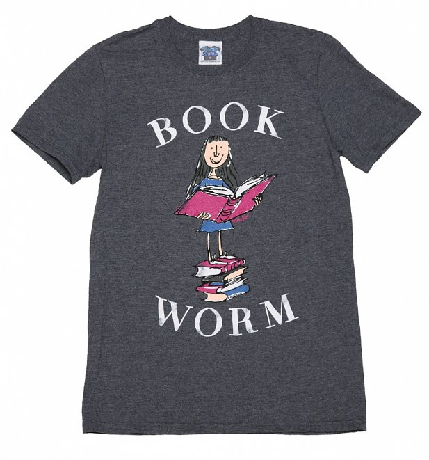 Men's Roald Dahl Matilda Book Worm T-Shirt