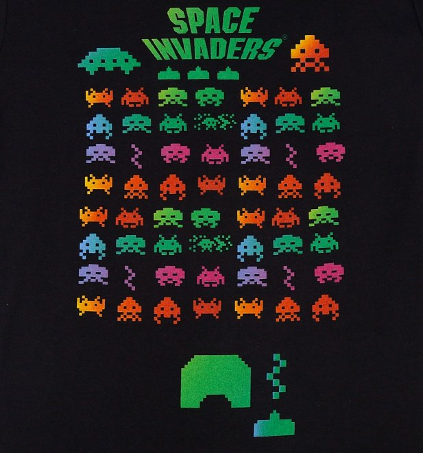 Men's Space Invaders T-Shirt