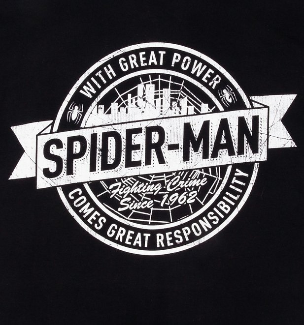 Men's Spider-Man Fighting Crime Since 1962 T-Shirt