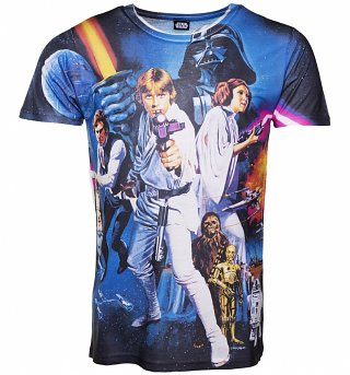 Men's Star Wars A New Hope Sublimation T-Shirt