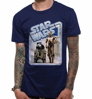 Men's Star Wars Droids C-3PO & R2-D2 T-Shirt