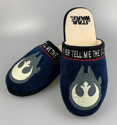Men's Star Wars Han Solo Slip On Slippers