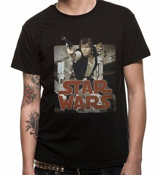 Men's Star Wars Retro Han Solo T-Shirt