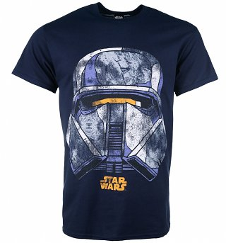 Men's Star Wars Trooper Face T-Shirt