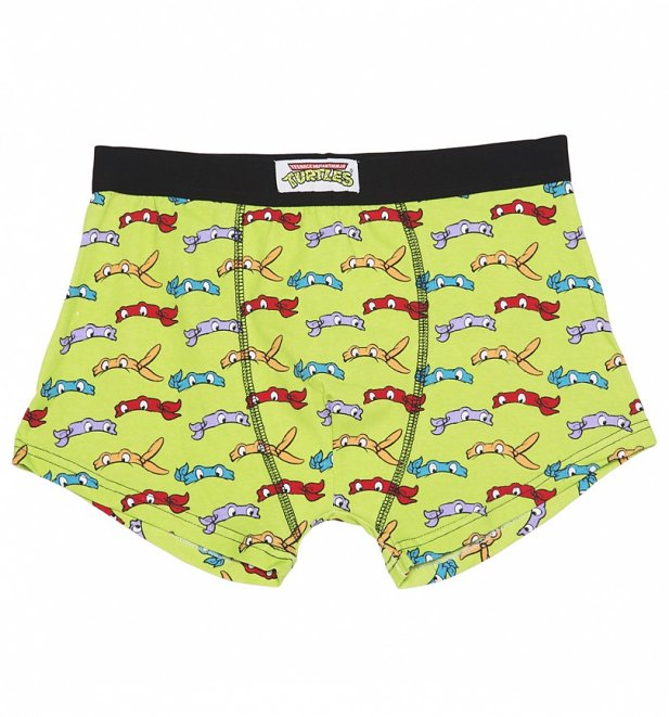Men's Teenage Mutant Ninja Turtles 2 Pack Boxer Shorts In Gift Box