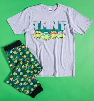 Men's Teenage Mutant Ninja Turtles TMNT Pyjamas