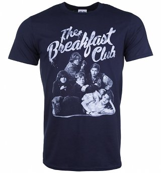 Men's The Breakfast Club Group Navy T-Shirt