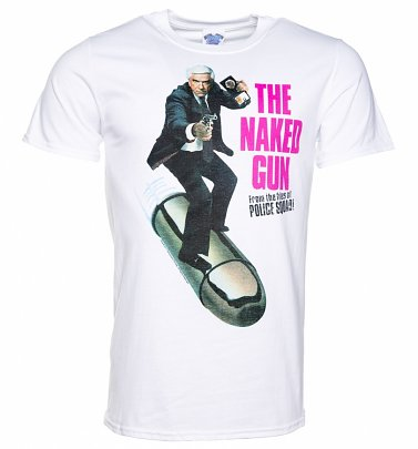 Men's The Naked Gun Movie Poster T-Shirt