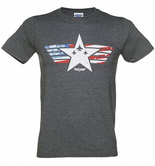 Men's Top Gun Maverick Stars and Stripes T-Shirt