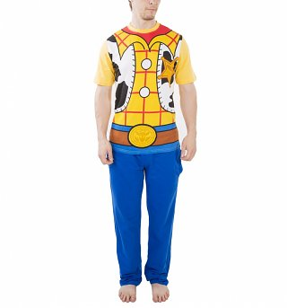 Men's Toy Story Woody Costume Pyjamas