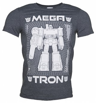 Men's Transformers Megatron Blueprint T-Shirt