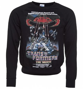 Men's Transformers Retro Movie Poster Sweater