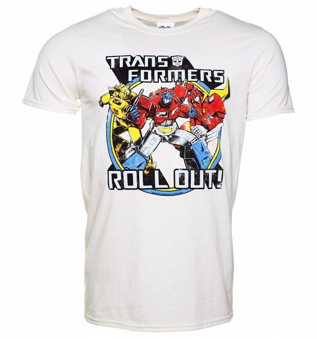 Men's Transformers Roll Out T-Shirt