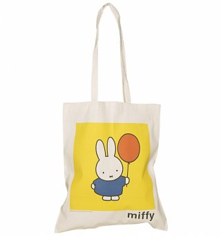 Miffy Balloon Canvas Tote Bag