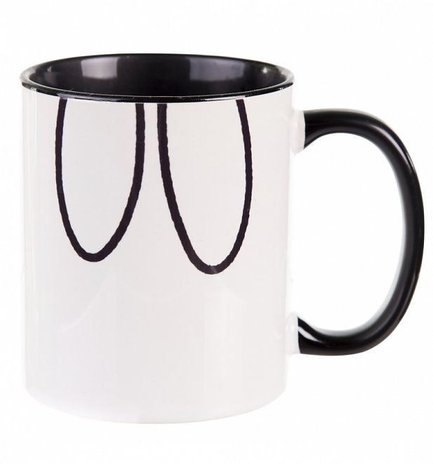Miffy Black Handle Mug