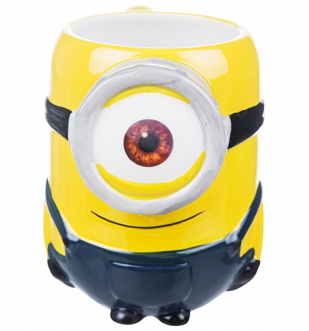 Minions 3D Stuart Mug With Scented Charm