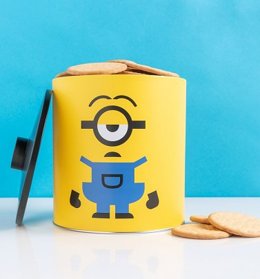 Minions My Cookies Biscuit Barrel