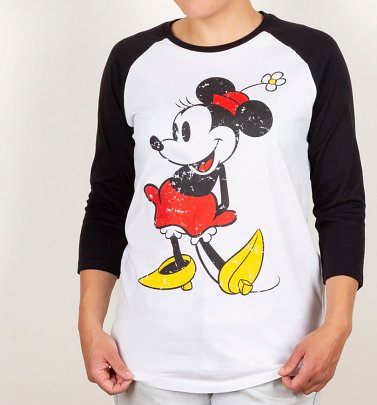 Minnie Mouse Baseball T-Shirt