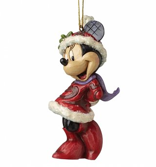 Minnie Mouse Disney Christmas Hanging Ornament