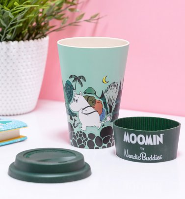 Moomin Moomintroll Adventures Eco Friendly Travel Mug