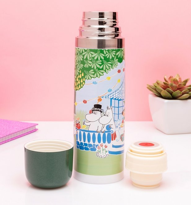 Moomin Party Thermal Flask from House of Disaster