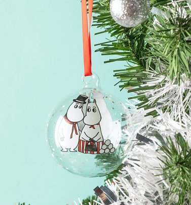 Moominmamma and Moominpappa Christmas Bauble