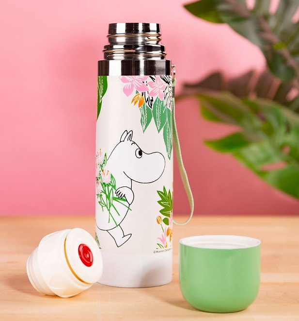 Moomin Flower Thermal Flask from House of Disaster