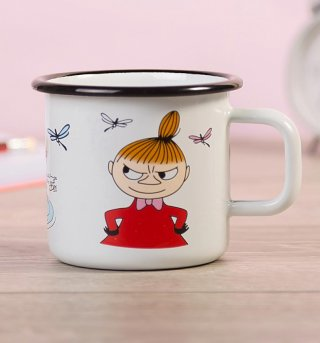 Moomins Little My Enamel Mug by Muurla
