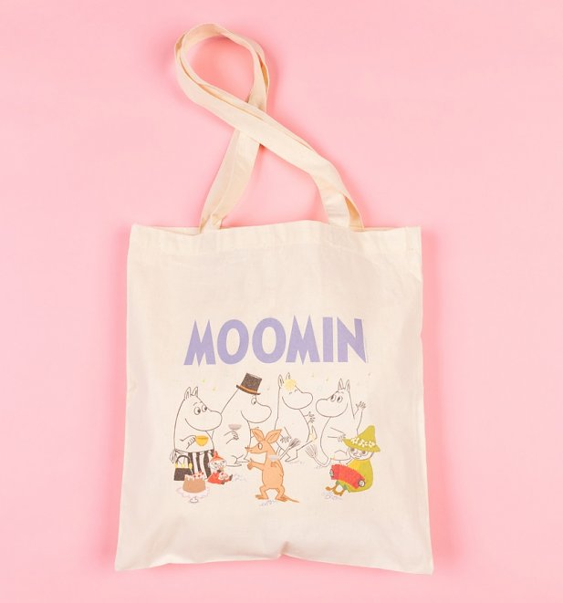 Moomins And Friends Tote Bag