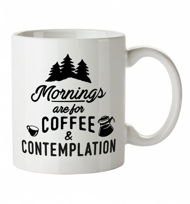 Mornings Are For Coffee And Contemplation Stranger Things Inspired Mug